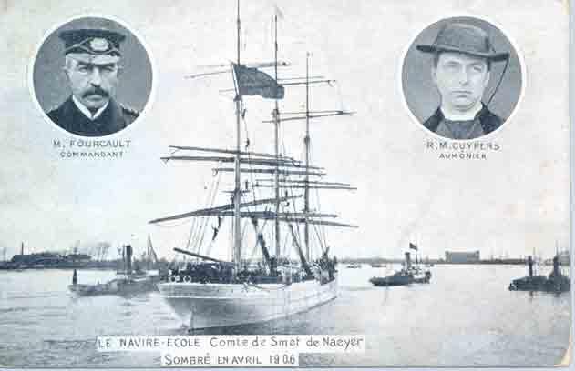 115 jaar geleden zonk Belgische schoolschip